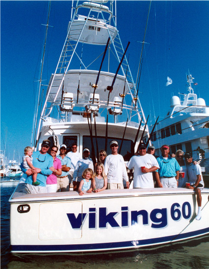 Friends on a Viking 60